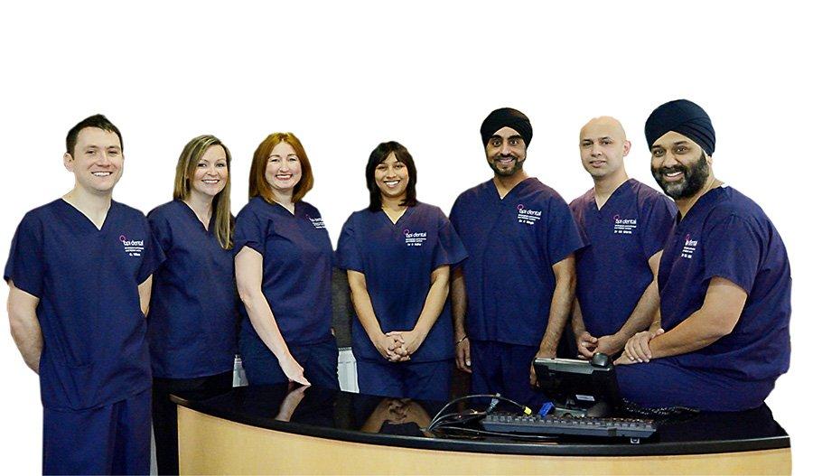 dental implant team